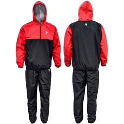 Clothing Sauna Suit Black Hood