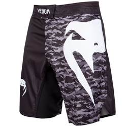 Fightshort Venum Light 3.0 - Noir/Urban Camo