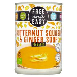 Butternut Squash & Ginger Soup