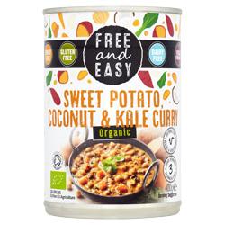 Sweet Potato, Coconut & Kale Curry