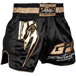 Petrosyan Muay Thaï Short Black Gold