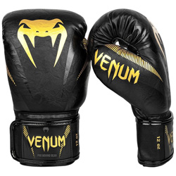 Impact Boxing Gloves Black Gold