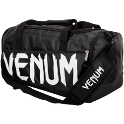 Sparring Sport Bag Black White
